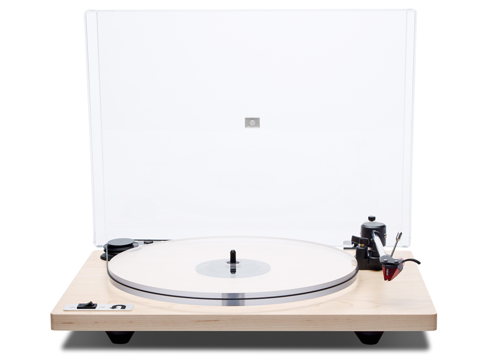 ORBIT SPECIAL - MAPLE ACRYLIC PLATTER ORTOFON OM5E CARTRIDGE DUST COVER w/amp $549 wo/amp $479