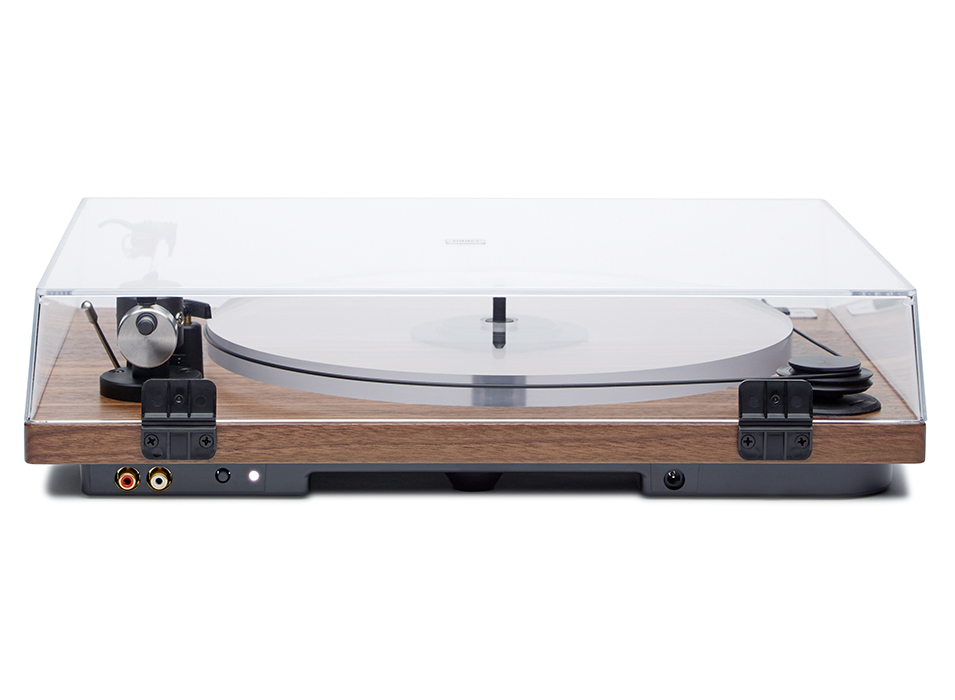 ORBIT SPECIAL - WALNUT ACRYLIC PLATTER ORTOFON OM5E CARTRIDGE DUST COVER w/amp $549 wo/amp $479