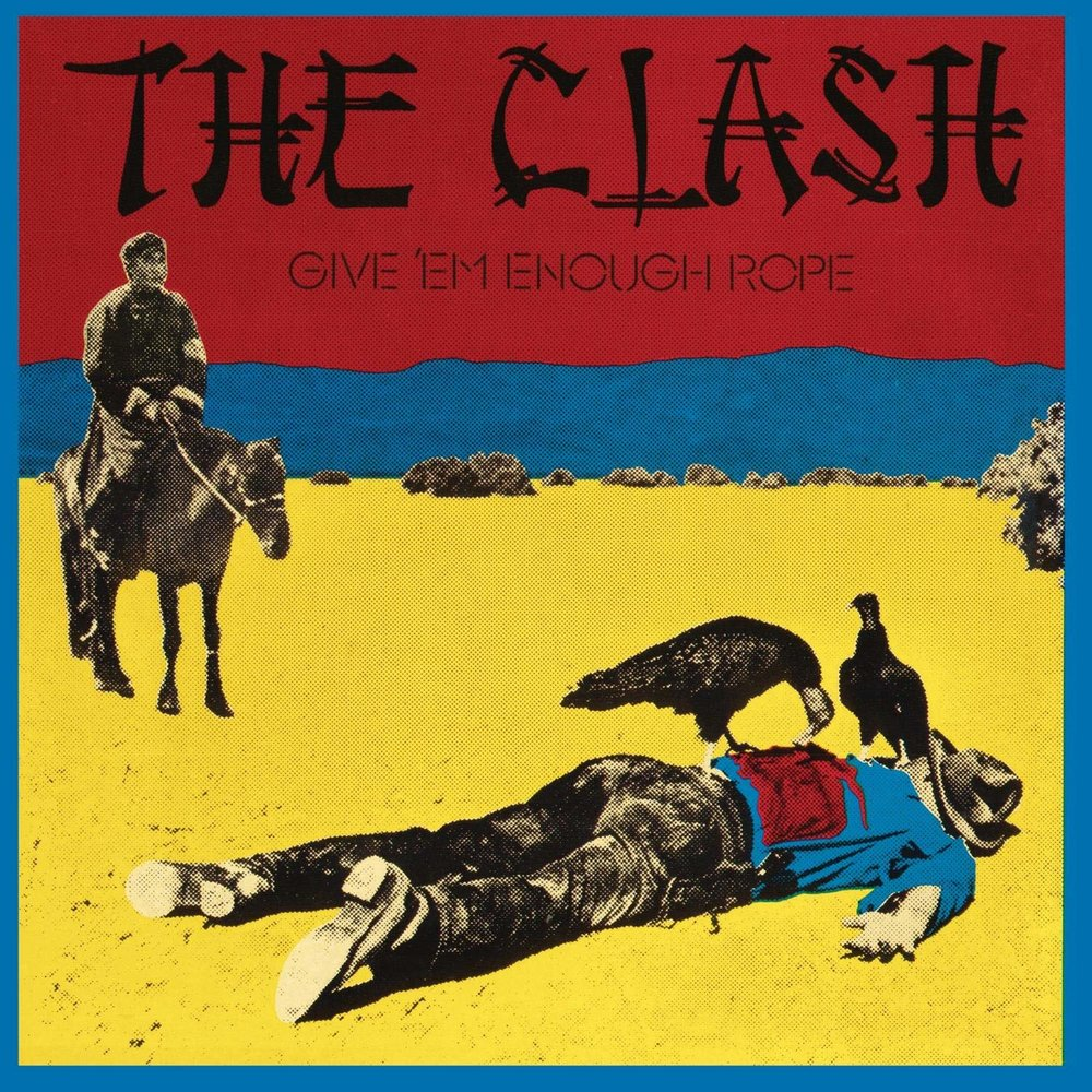 THE CLASH - GIVE THEM ENOUGH ROPE $25 fully remastered 180 gram vinyl @ 1978 Epic Records