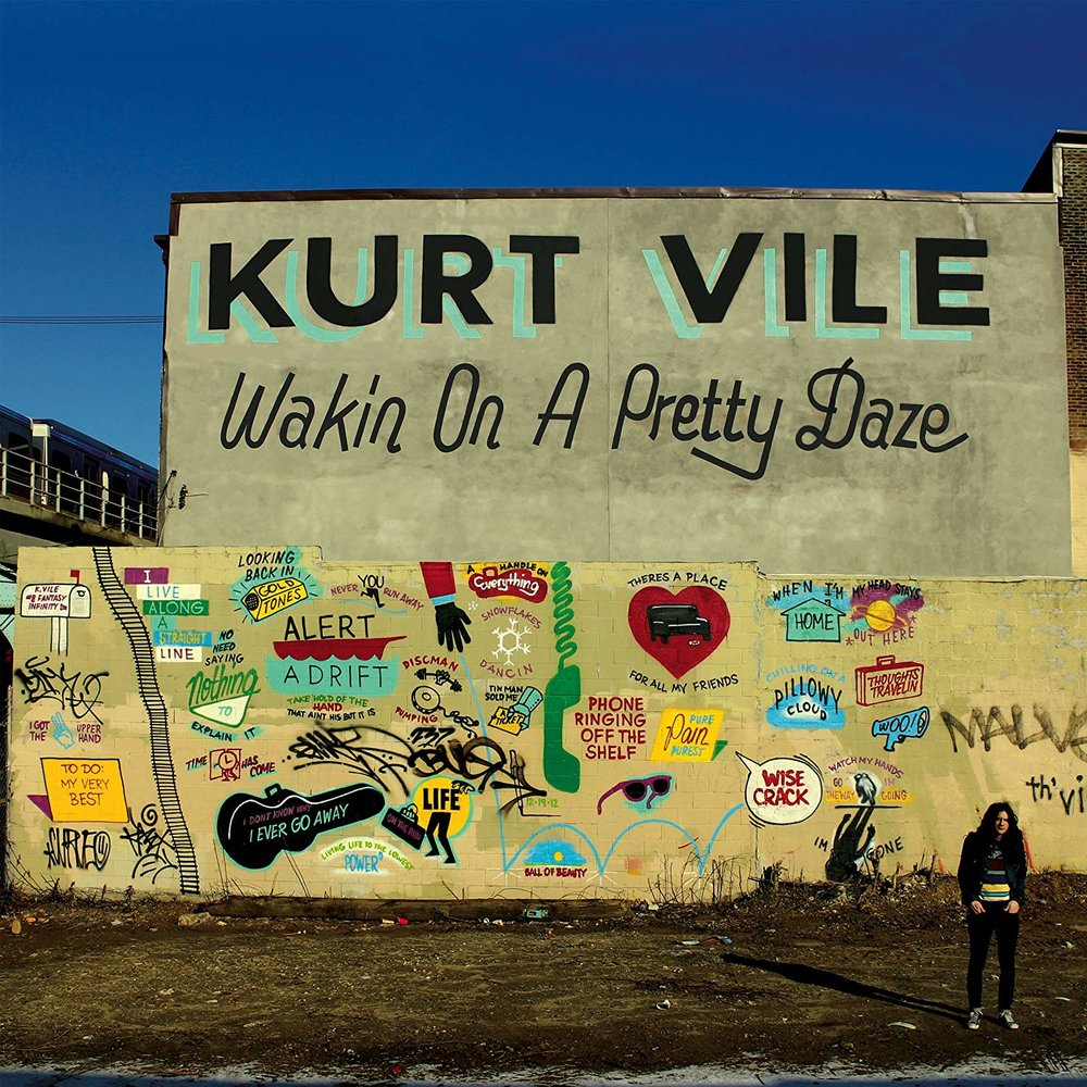 KURT VILE - WAKIN ON A PRETTY DAZE $32 2 x lp @ 2013 Matador Records
