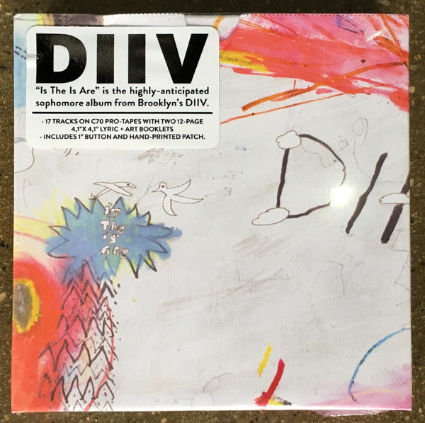 DIIV - IS THE IS ARE $35 2 x lp 12-page lyric+art booklet download card @ 2016 Captured Tracks