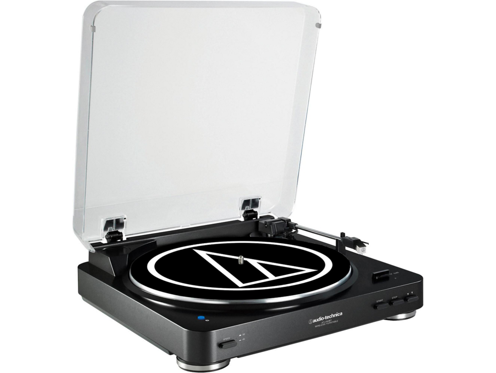 Audio Technica AT-LP60BK-BT Bluetooth Turntable - Black $165
