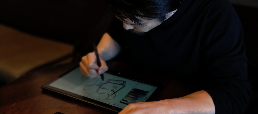 Andrew - can turn your face into a Saturday Morning Cartoon. He is an animator in the video game industry, moonlighting as a caricature artist in the Toronto area.Book now forlive digital or traditional caricatures!