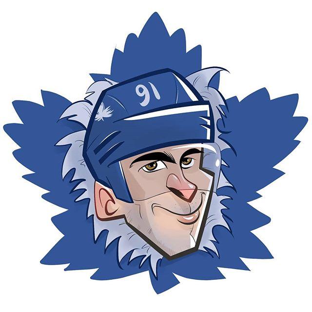 Here's Johnny!!! . Added the final touches to my doodle of @johntavares . Welcome to the Buds! . Featured on @officialleafsnation . . . . . . . .  #caricature #digitalart #torontomapleleafs #budsallday #sketch #digitalart #mangastudio #clipstudiopaint #toronto #eventplanner #icehockey #leafsnation #hockeylife #blueandwhite #goleafsgo #johntavares
