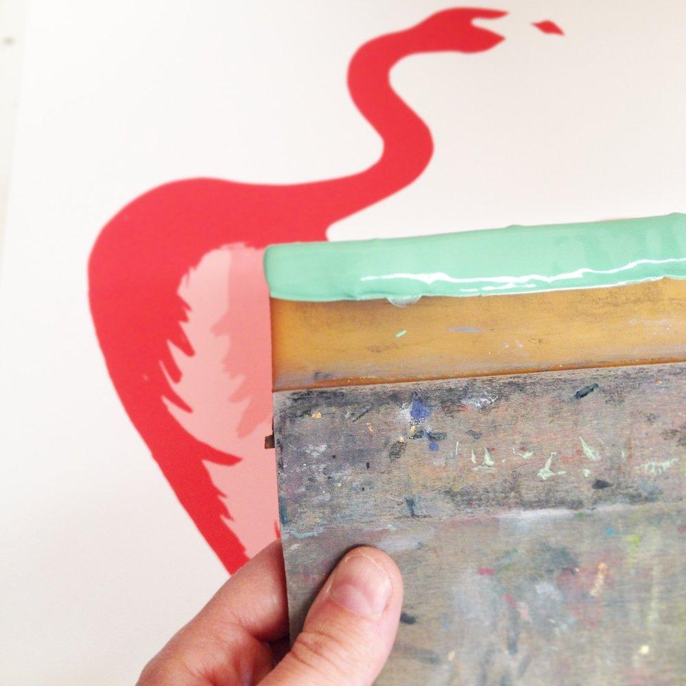 Printing the Flamingo
