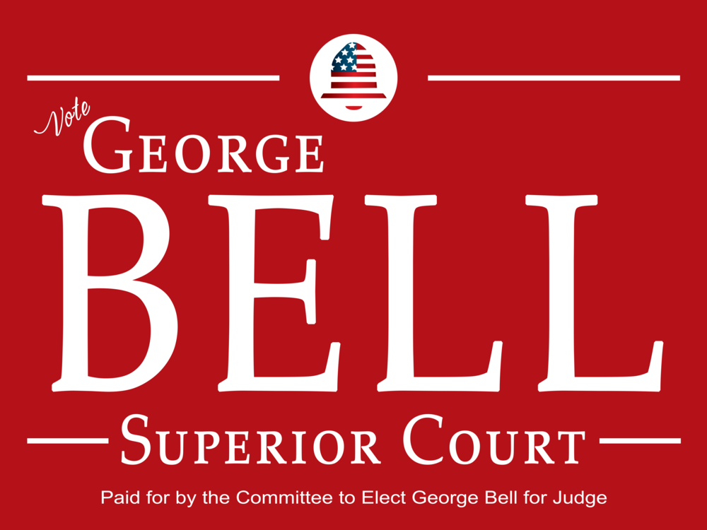 Contribute - To support George in his run for judge, you may mail personal checks only, not business checks, to the following:  Committee to Elect George Bell, 200 S. Old Statesville Rd. Huntersville, NC 28078 or electronically as follows:Contribute via the (1) Website