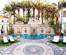 villa casa casuarina, versace - 1116 Ocean Dr, Miami Beach, FL