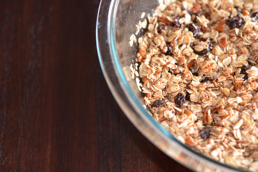 Homemade Breakfast Granola