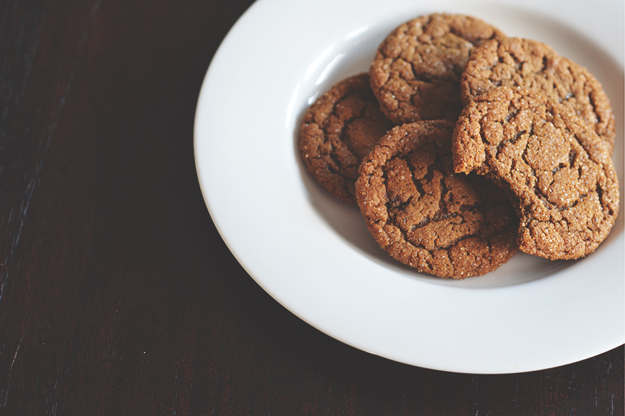 Molasses Spice Cookies