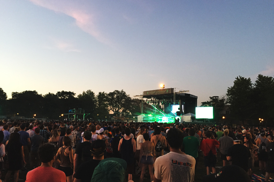 Chance the Rapper Pitchfork Music Festival Chicago