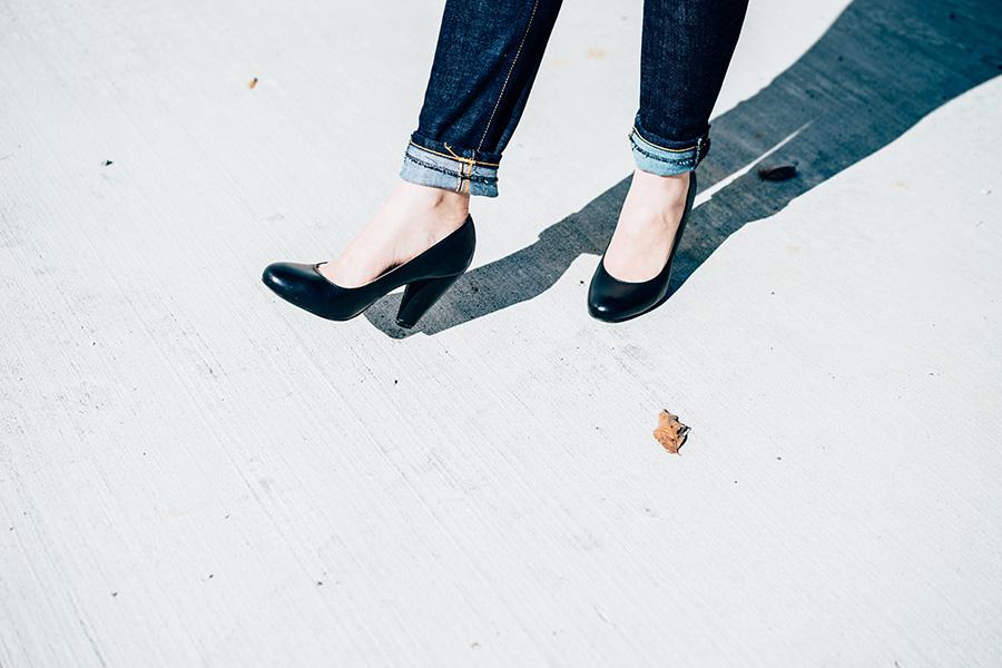 Styled | Black Blazer + Jeans