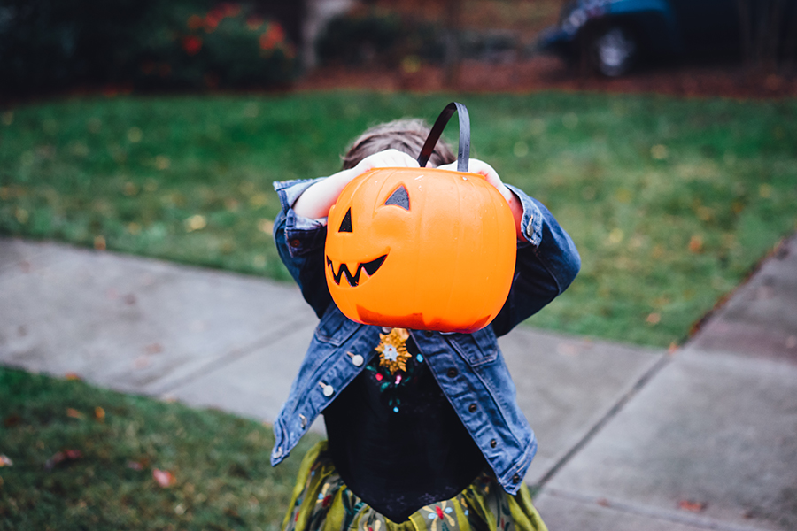 Trick or Treating with Kids