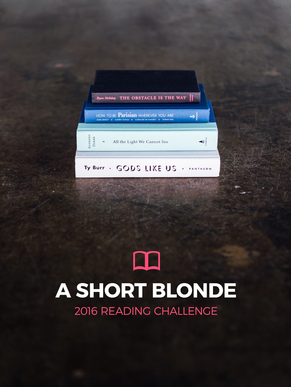 A Short Blonde Modern Mrs Darcey 2016 Reading Challenge