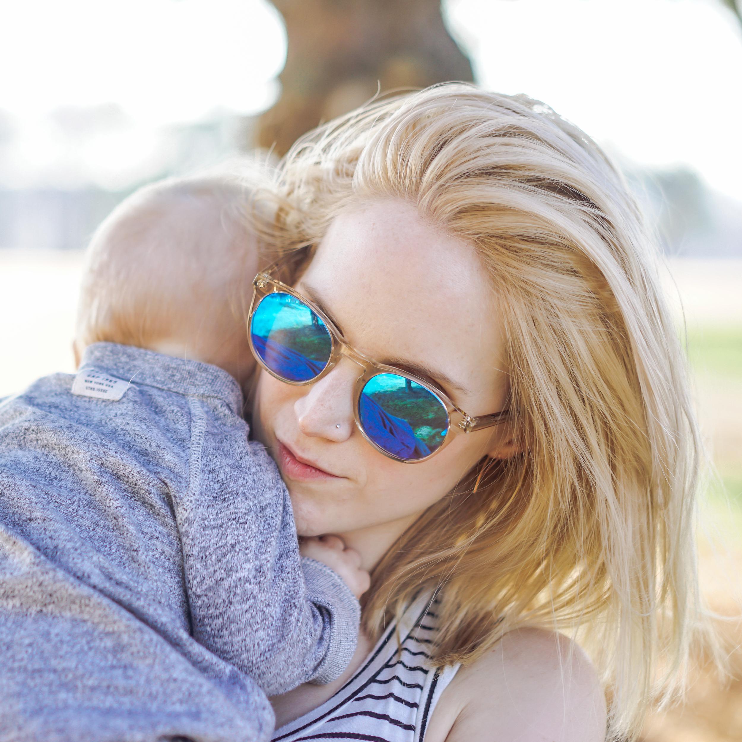 Sunny walks with PinkBlush Maternity