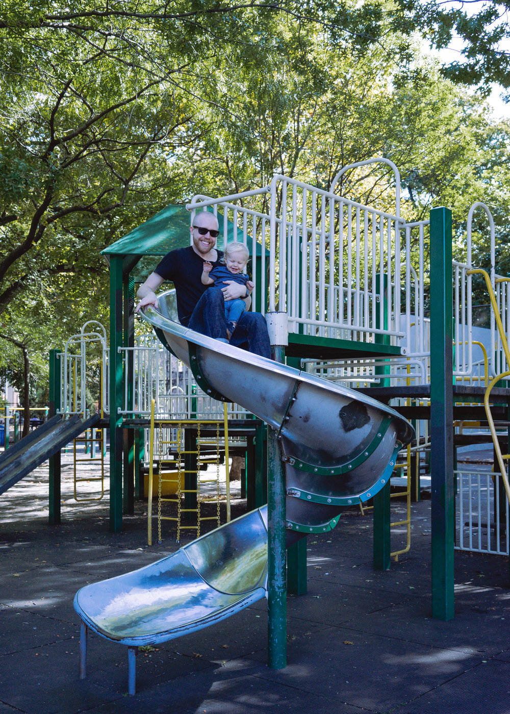 New York City with a Toddler: Day One in Brooklyn