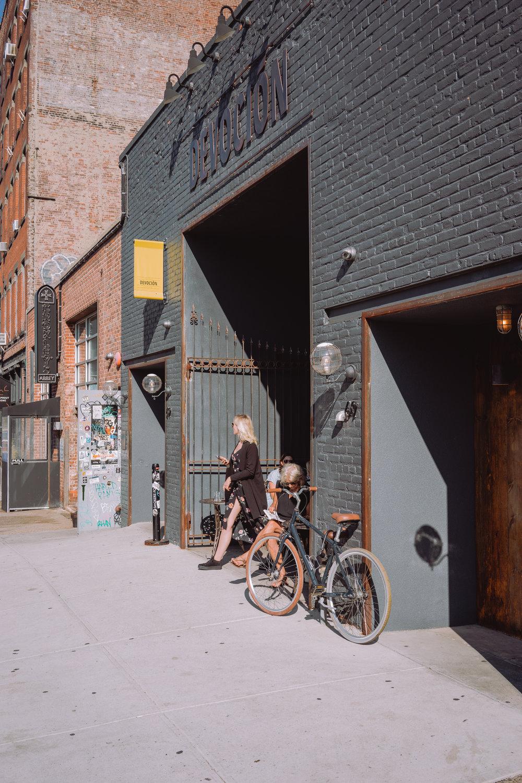 Devoción'scafé in Brooklyn