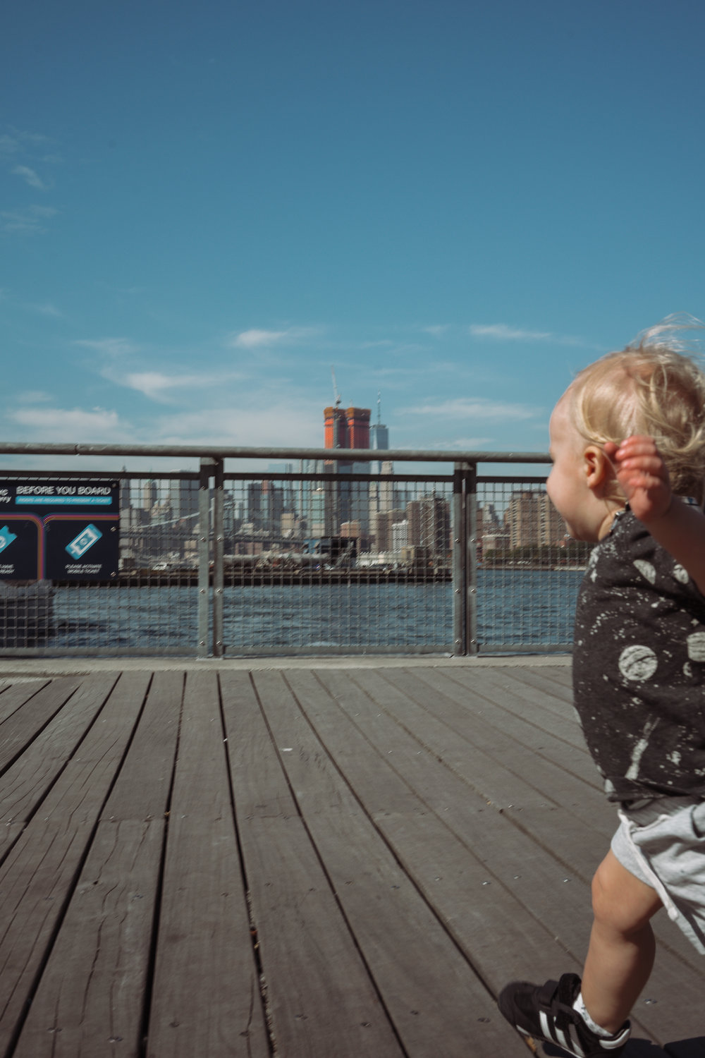 Toddler Travel to New York City