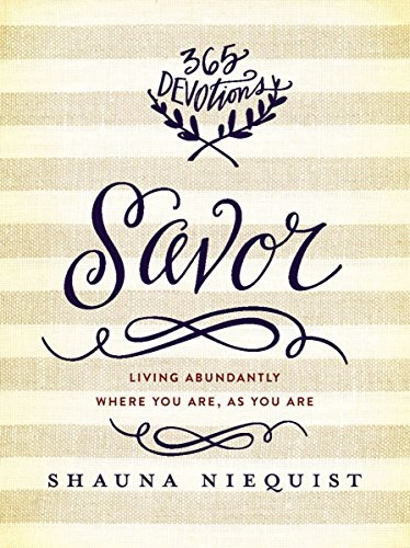 Savor Devotional