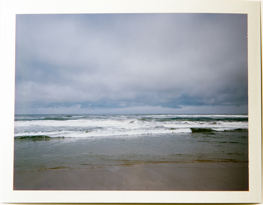 Waves, 4x5 Fuji Instant Film