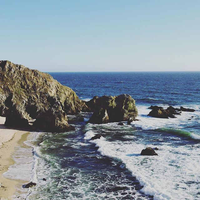 Surf at Tomales Point