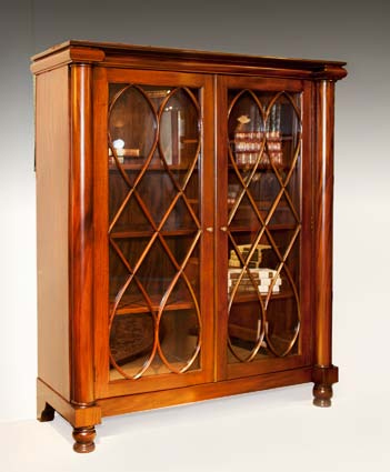 CA002B - Two Door Chippendale Display Cabinet B