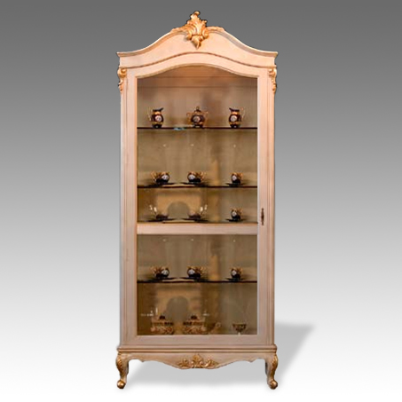 CA2014CC -Francisca Two Door Corner Cabinet