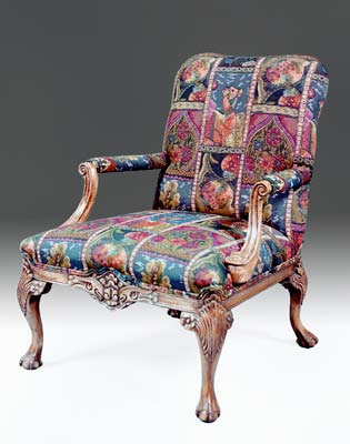 CH360 - Chippendale Library Chair