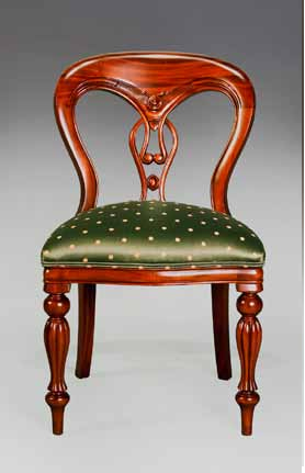 FIDDLE BACK SIDE CHAIR. Ch026s. Ch026s