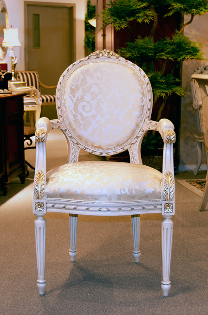 CH500ASD - Louis XVI Arm Dining Chair