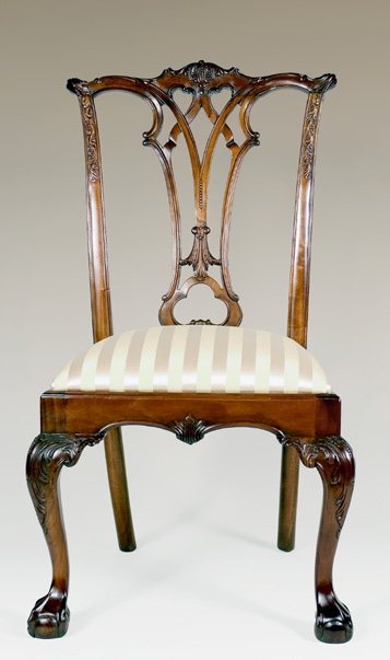 CH922S - New England Chippendale Side Chair