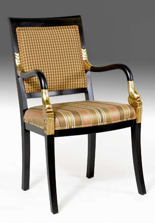 CH1046 - Empire Dolphin Arm Chair