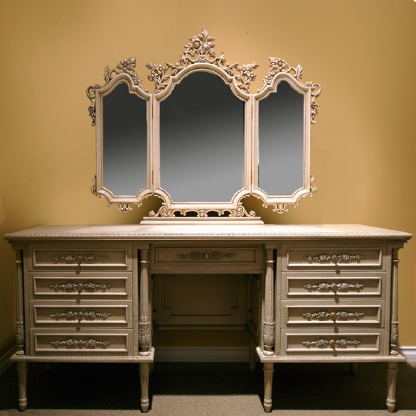 CA500DM -Provenance Style Dresser & Mirror