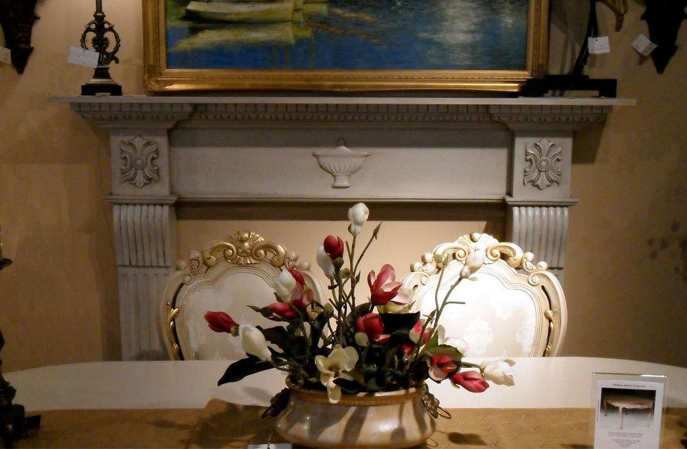 F300 - Neoclassic Fireplace