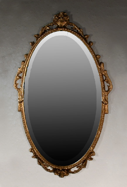 MF479 - Hand Carved Victorian Style Mirror