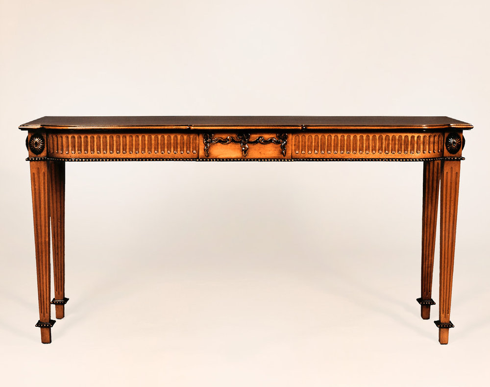 TA2078 - Adam Period Carved Serving Table
