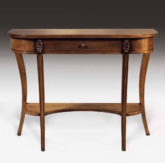 TA9046 - Neoclassic Single Drawer Console Table