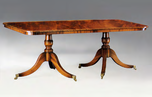 TA907 - Sheraton Dining Table with Two Leaves