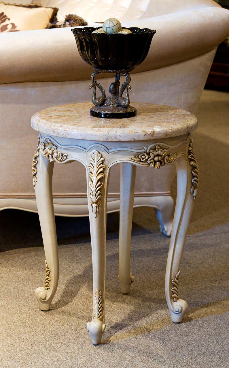 TA4205ET - Louis XV Style End Table