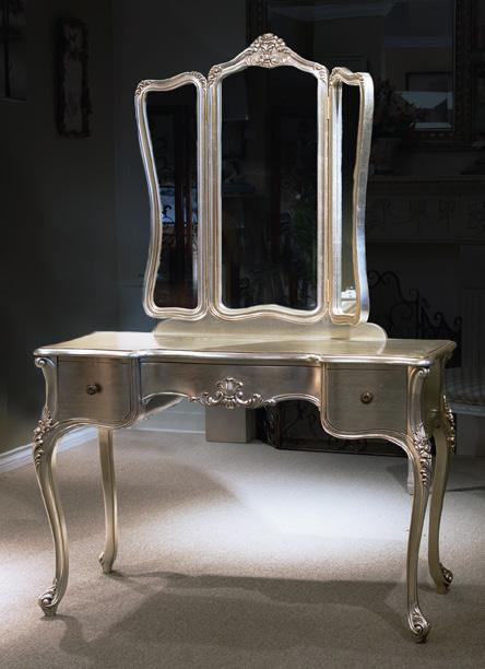 TA807 - Louis XV Style Mirror Vanity Table