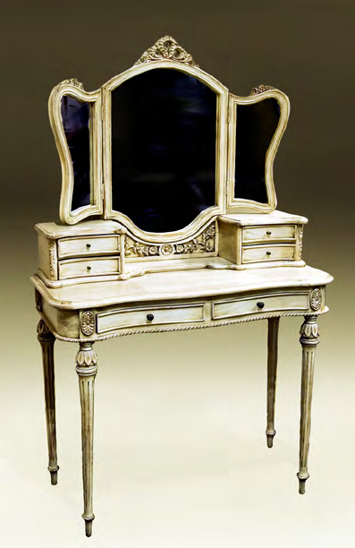 TA1522 - Louis XVI Style Vanity With Mirror