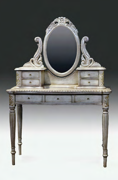 TA2180 - Louis XVI Vanity with Mirror