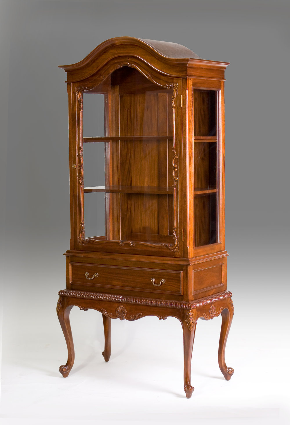 CA005 - Dutch Style Display Showcase Cabinet