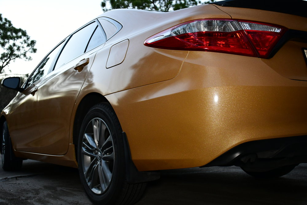 2017 Camry Restyled in Avery Dennison Gloss Diamond Amber