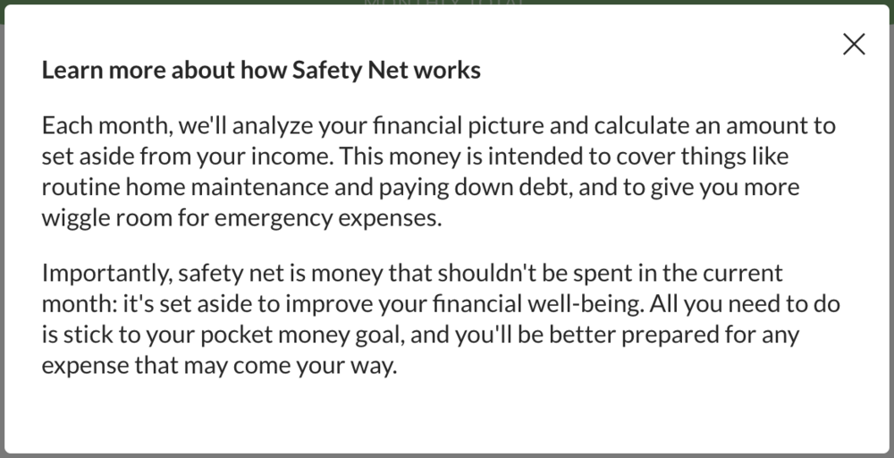 Safety Net Explanation