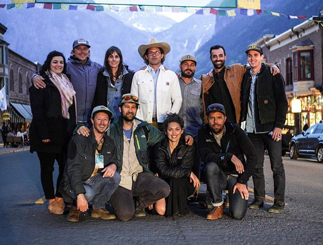 Throwback Tuesday to this legendary crew for an unforgettable weekend at @mountainfilm in Telluride. Special thanks to @irish_goodbye (the white stallion with his shirt tucked in) for bringing us all together for such a rad time. Also to @cartercountry who let us film him for a year straight to tell his story for a cool little @yeti video that we premiered here. Keep an eye out this fall for the video to drop online. 🤠🐍🍼