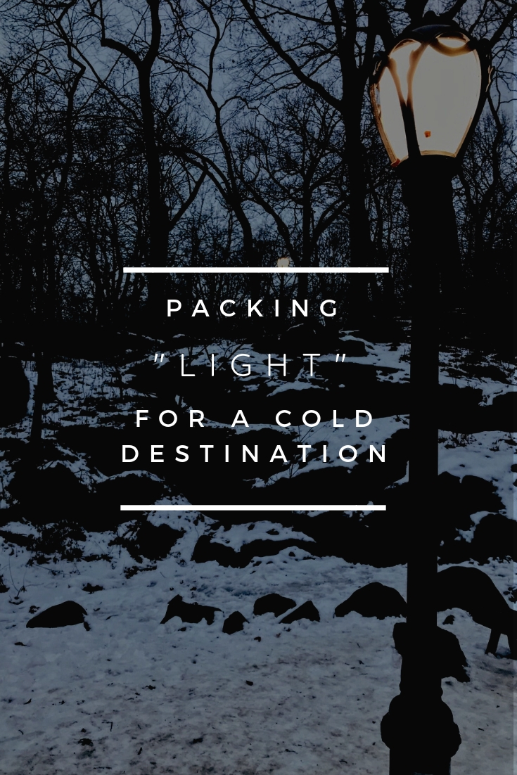 "- The key to packing ""light"" when going to a cold destination is to learn and accept that... Read More…"