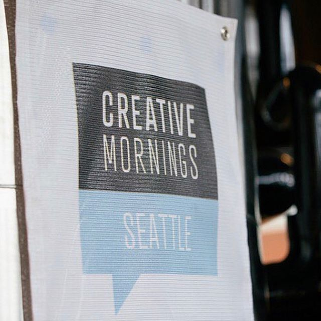 Had a great time hosting @creativemorningsseattle last month an amazing speaker @jenniferament