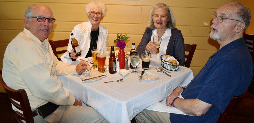 Dining at Big Sky Restaurant