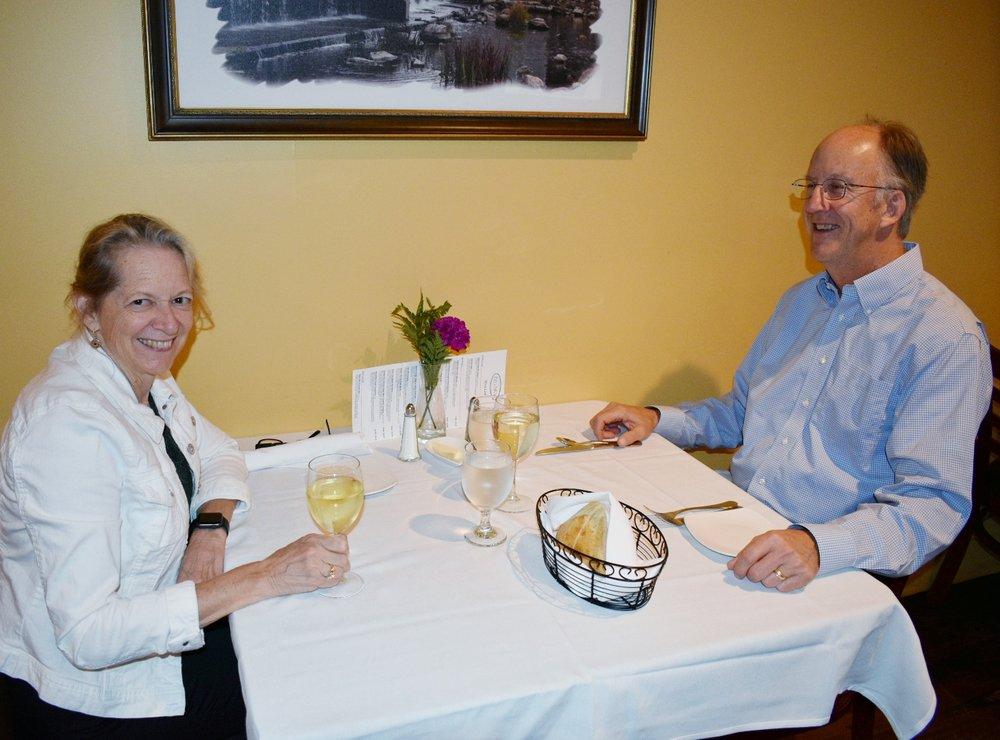 Dinner Date night at Big Sky Restaurant
