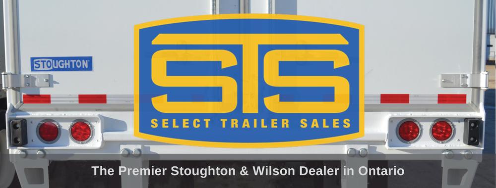 Select Trailer Sales Ontario Canada logo on Stoughton Trailer